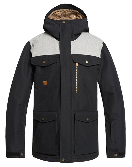 Quiksilver Jachetă pentru bărbați Raft Jk Black EQYTJ03227-KVJ0 XL