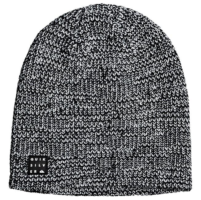 Quiksilver Pánska čiapka Silas Beanie Black Heather EQYHA03193-KRPH
