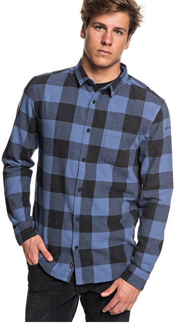 Quiksilver Motherfly Flannel Bijou Blue Motherfly Verificați EQYWT03728-BNG1 S