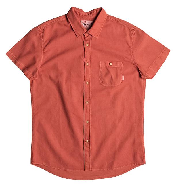 Quiksilver Shirt pentru bărbați Time Box Burnt Sienna EQYWT03444-NMH0 M