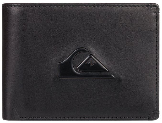 Quiksilver Pánska kožená peňaženka New Miss Dollar Black EQYAA03879-KVA0