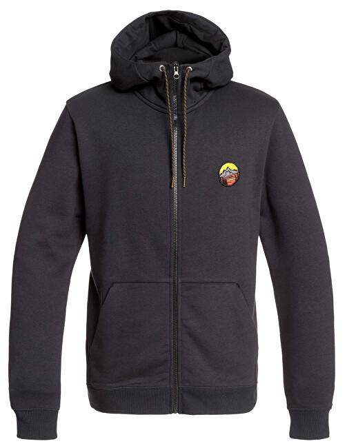Quiksilver Hanorac pentru bărbați Big Logo Snow Fz Black EQYFT03953-KVJ0 S