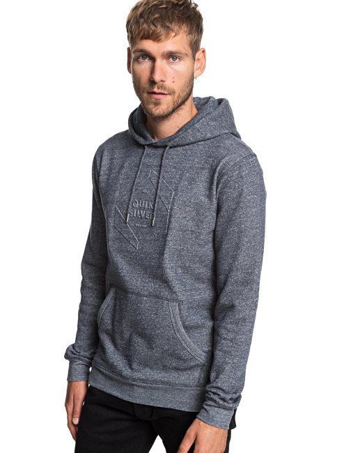Quiksilver Hoodie pentru bărbați Global Grasp Hood Navy Blazer Heather EQYFT03929-BYJH L