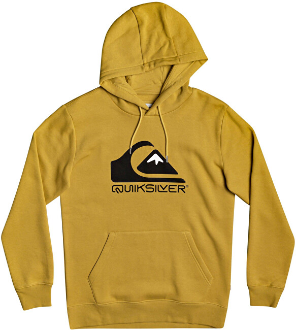 Quiksilver Pánská mikina Square Me Up Screen Fleece EQYFT04203YLV0 S