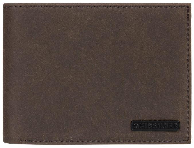 Quiksilver Portofel pentru bărbati Bridgies III Chocolate Brown EQYAA03820-CSD0