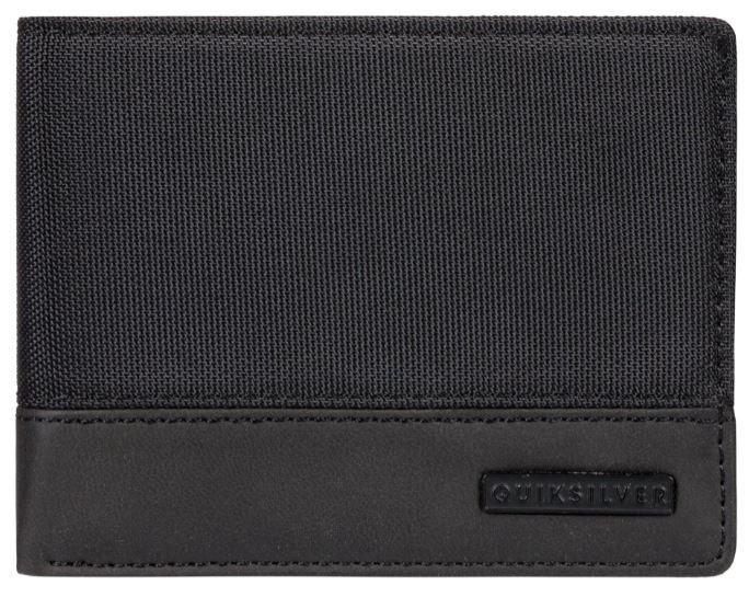 Quiksilver Pánska peňaženka Natiberry Black Black EQYAA03825-KVJ0