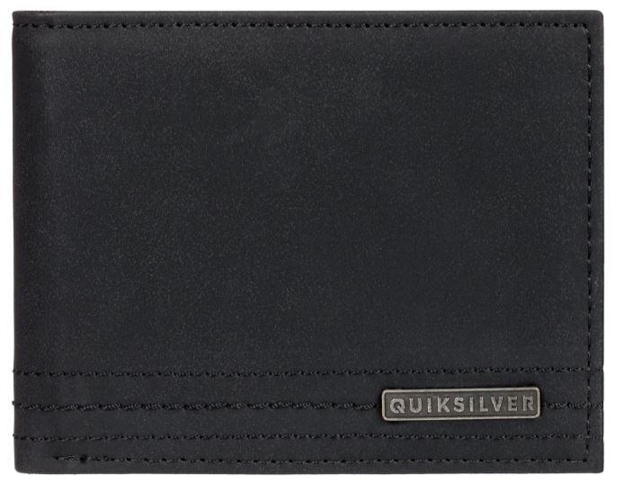 Quiksilver Pánska peňaženka Stitchy Wallet VI Black Black EQYAA03823-KVJ0