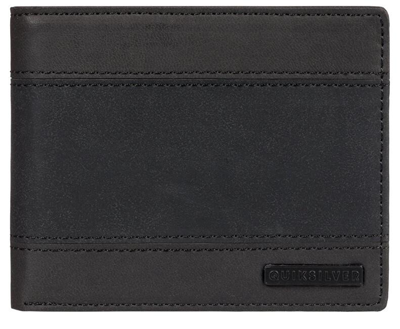Quiksilver Portofel pentru bărbați Supply Slim Trifold II Black Black EQYAA03838-KVJ0