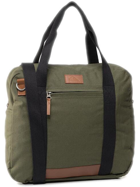 Quiksilver Pánska taška Premium Carrie r Burn t Olive EQYBA03131-GPZ0