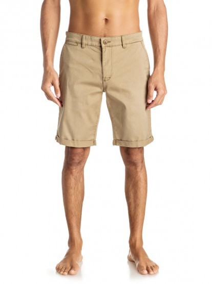 Quiksilver Pantaloni scurți Kranda Chino St Elmwood EQYWS03324-TMP0 pentru bărbați 34