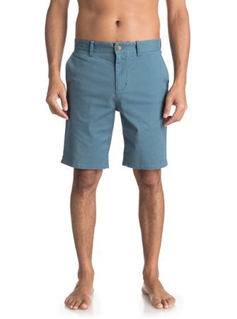 Quiksilver Pantaloni scurțiKrandy Chino St Real Teal EQYWS03324-BPR0 pentru bărbați 32