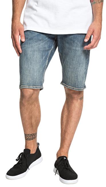 Quiksilver Pantaloni bărbați Sequel Medium Blue Short EQYDS03086-BYGW 34