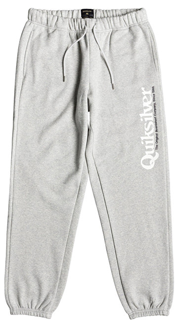Quiksilver Pantaloni pentru bărbați Track Pant Screen Light Grey Heather EQYFB03166-SJSH XL