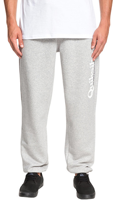 Quiksilver Pantaloni pentru bărbați Track Pant Screen Light Grey Heather EQYFB03166-SJSH XXL
