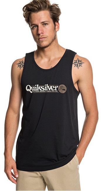 Quiksilver Men top Art Tickle Tank Black EQYZT05289-KVJ0 M