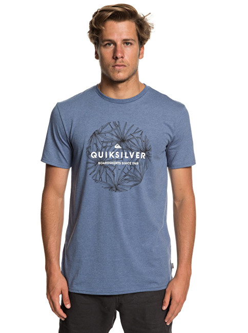 Quiksilver Bărbați t-shirt Classic Bob Ss Bijou Blue Heather EQYZT05278-BNGH XL