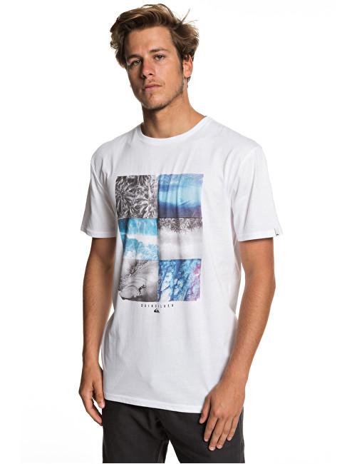 Quiksilver Tricou pentru bărbați Photo Fun Ss White EQYZT05266-WBB0 M
