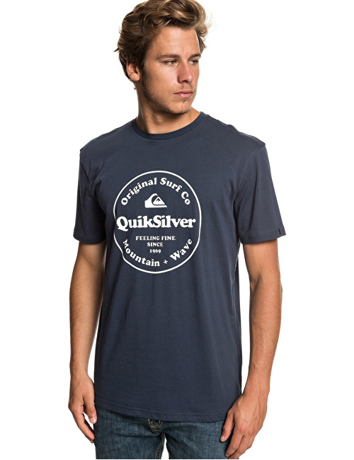 Quiksilver Tricou pentru bărbați Secret Ingredient Ss Blue Nights EQYZT05265-BST0 S
