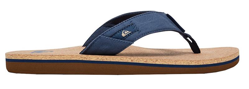 Quiksilver Sandale bărbați Molokai Abyss Cork Blue/Brown/Blue AQYL100761-XBCB 42