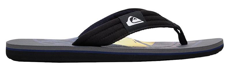 Quiksilver Flip flops Molokai Layback Grey/Black/Blue AQYL100784-XSKB 43