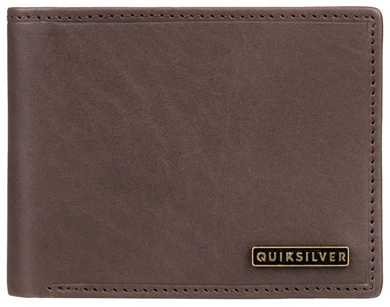 Quiksilver Peňaženka New Classical Plus III Chocolate Brown EQYAA03744-CSD0