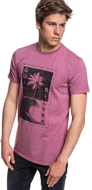 Quiksilver Tricou  Destroyed Reality Mellow Mauve EQYZT05012-MMB0 S