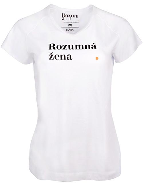 Rozum a cit Dámske tričko Rozumná žena S