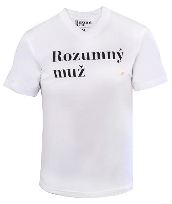 Rozum a cit Pánske tričko Rozumný muž M