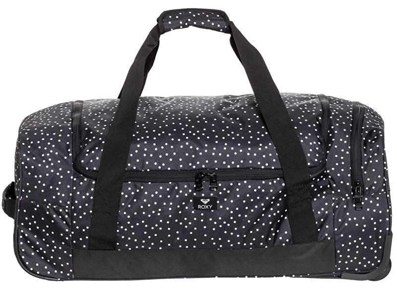Roxy Cestovná taška Distance Accross True Black Dots For Days ERJBL03124-KVJ8