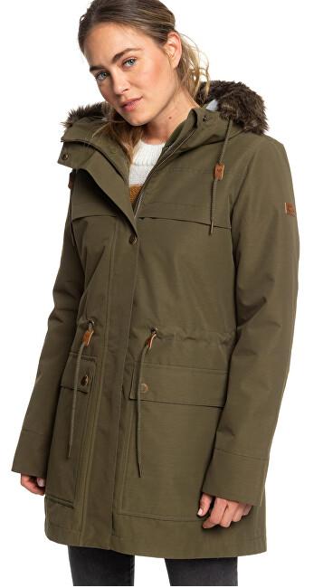 Roxy Dámska bunda Amy 3n1 Jk Ivy Green ERJJK03283-CRB0 S