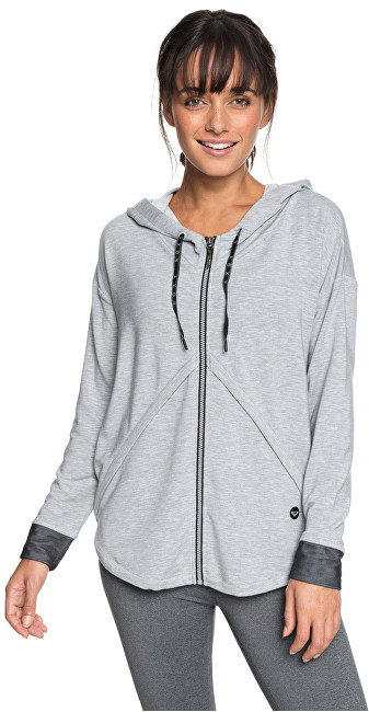 Roxy Dámska mikina Stormy Lovers Fleece Heritage Heather ERJFT03829-SGRH XS
