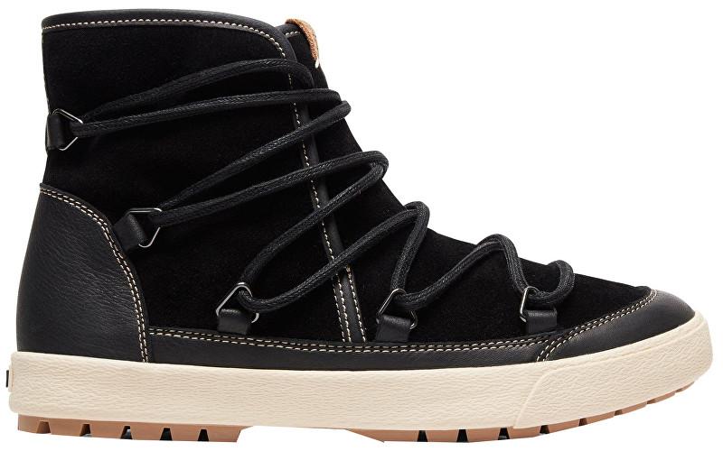 384dcd4182e Roxy Dámské kotníkové boty Darwin Black ARJB300017-BL0 38