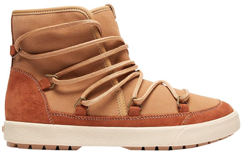 Roxy Dámske členkové topánky Darwin Camel ARJB300017-CAM 37