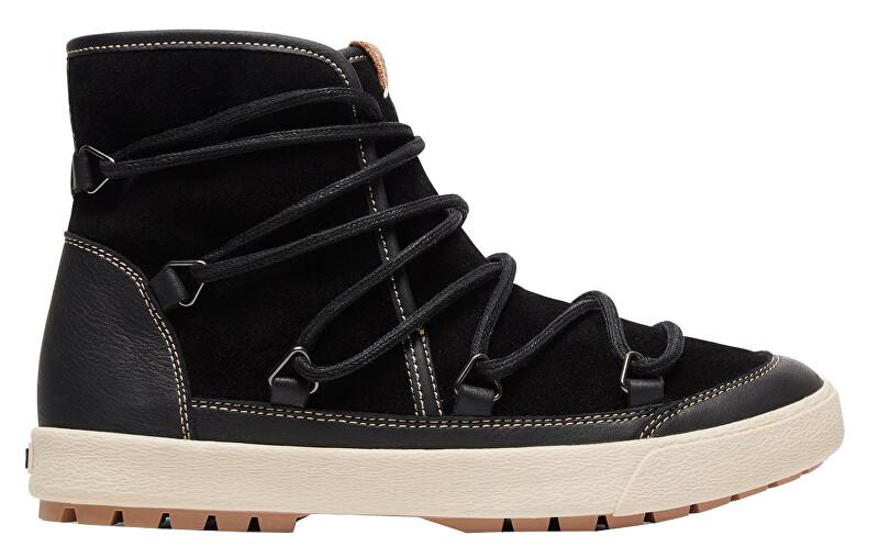 Roxy Dámske členkové topánky Darwin II Black ARJB300020-BL0 39