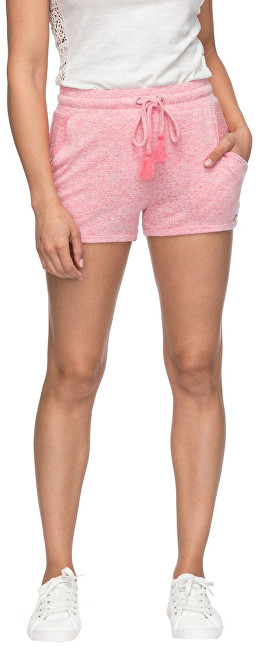 Roxy Dámske šortky Cozy Chill Short Rouge Red Heather ERJNS03148-MLJH XS