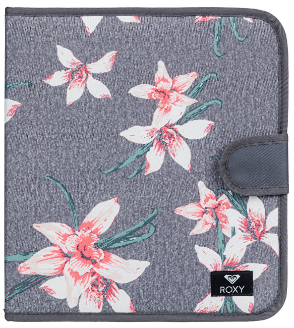 Roxy Puzdro What A Day Charcoal Heather Flower Field ERJAA03469-KPG6