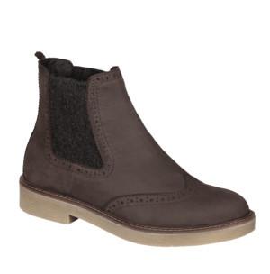 2c9215669370a Scholl Dámske členkové topánky Rudy Memory Cushion Dk Brown F272921019 37