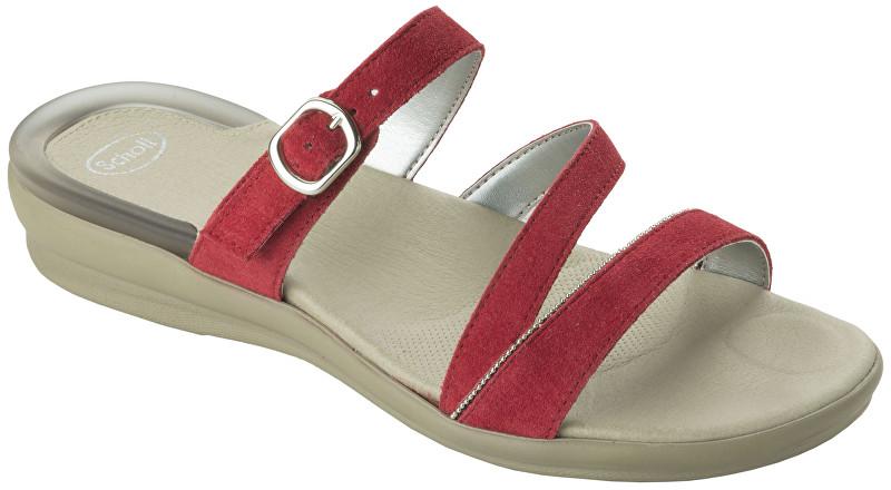 d88f91f723a Scholl Dámské pantofle Elinor Gelactiv Red F265241051 37