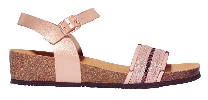 Scholl Dámske sandále Ivette Bioprint Rose Gold F274151853 37