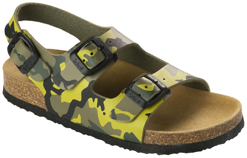 6ef5d710659e Scholl Detské sandále Air Bag B S Kid Bioprint Multi Green F265741221 31