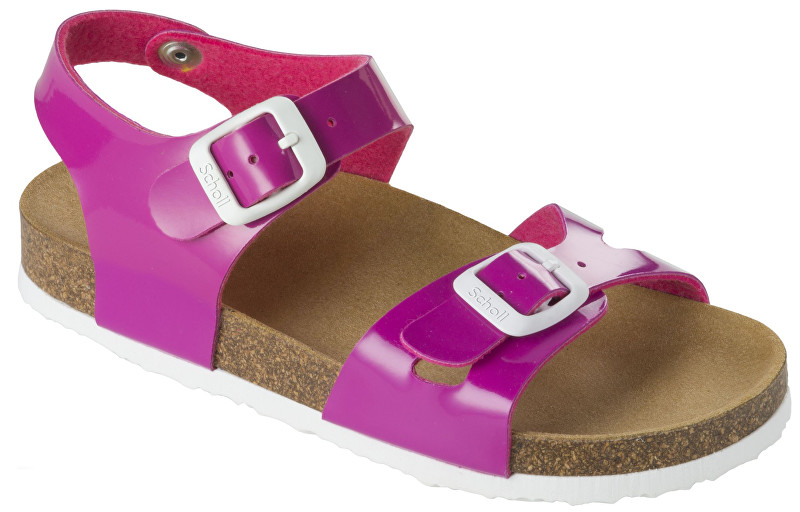 Scholl Detské sandále Smyley Kid Bioprint Fuchsia F265711026 27