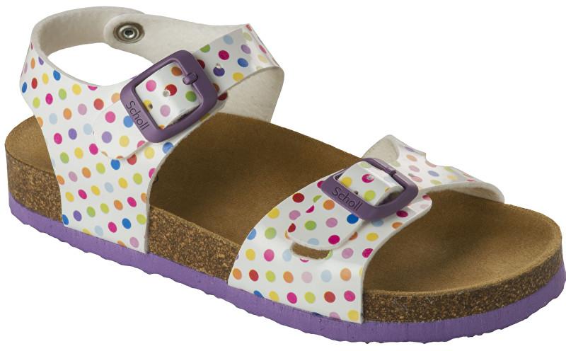 Scholl Detské sandále Smyley Kid Bioprint Multi F265721039 29