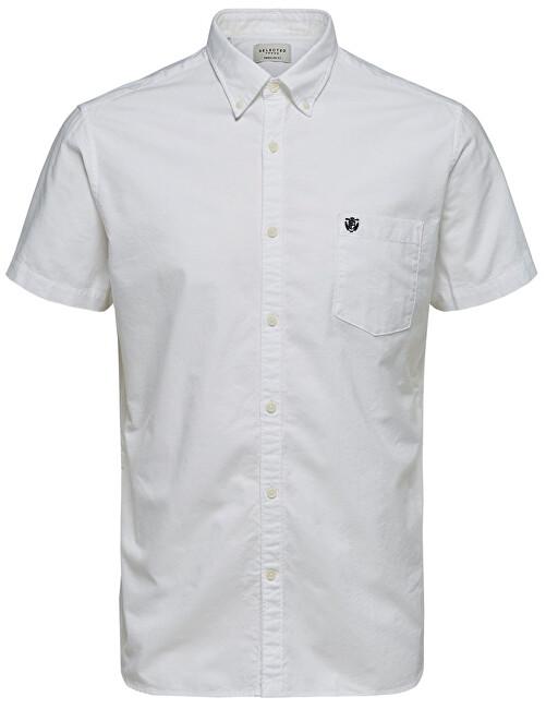 SELECTED HOMME Cămașă pentru bărbați Regcollet Ss W Noos White XL
