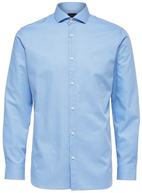SELECTED HOMME Cămașă pentru bărbați Regsel-Jay Shirt Ls Dobby B Noos Light Blue L