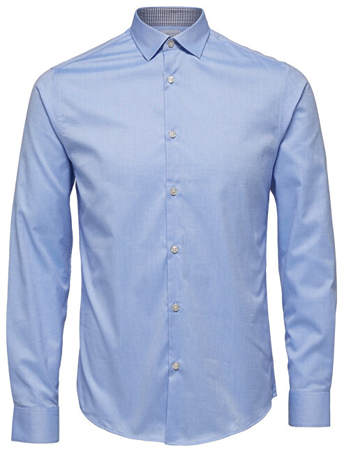SELECTED HOMME Cămăși pentru bărbați SlimNew-Mark Shirt Ls B Noos Light Blue L