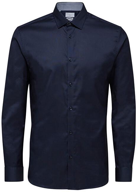 SELECTED HOMME Cămăși pentru bărbați SlimNew-Mark Shirt Ls B Noos Navy Blazer L