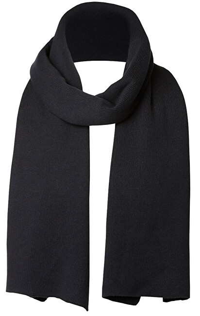 SELECTED HOMME Esarfa SLHLETH COTTON SCARF W Black
