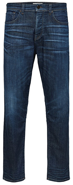 SELECTED HOMME Pánske džínsy Tapered-Toby 6145 D.Blu St Jns W Dark Blue Denim 30-32
