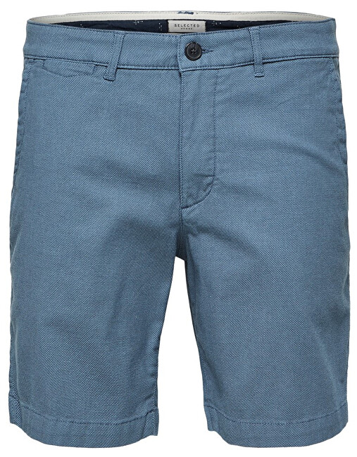SELECTED HOMME Pánske kraťasy Straight-Chris Shorts W Camp Blue Shadow S