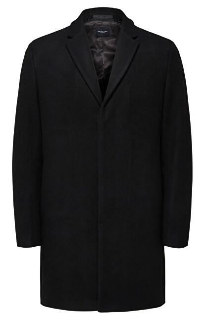 SELECTED HOMME Palton bărbătesc SLHBROVE WATER Coat Black XL